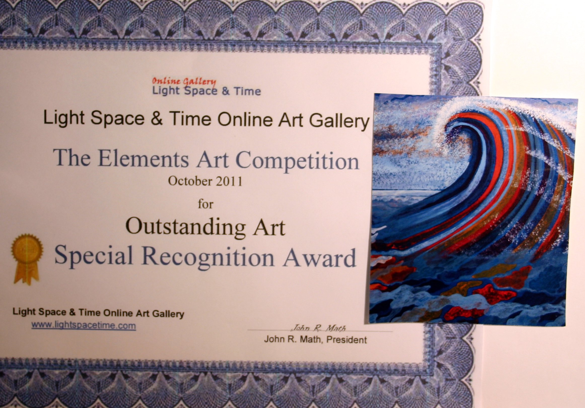 Elements Art Competition